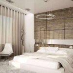 вариант необычного декора спальной комнаты фото