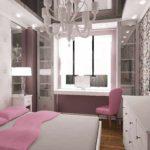 идея красивого стиля спальной комнаты для девочки фото