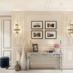 пример необычного декора коридора картинка
