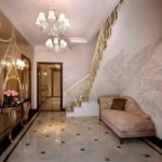 идея яркого дизайна коридора фото