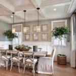 идея красивого дизайна прованс в гостиной комнате фото