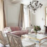 пример необычного интерьера прованс в гостиной комнате фото