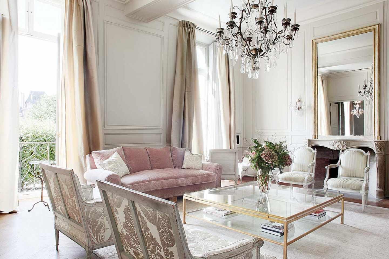 Квартира в французском стиле фото