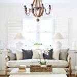 вариант яркого декора прованс в гостиной комнате картинка