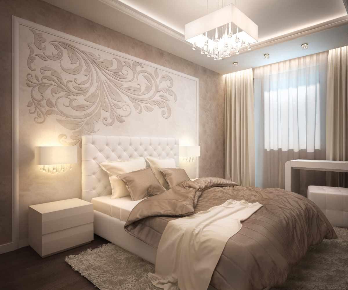 идея светлого стиля спальни