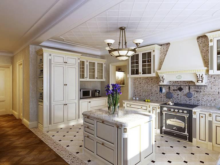 выбор мебели для кухни гостиной