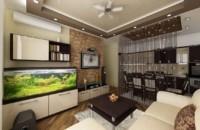 кухня гостиная 15 м2 дизайн интерьер
