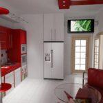 кухня гостиная 15 м2 фото интерьер