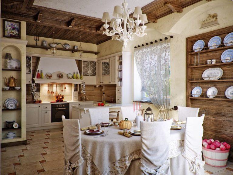 кухня с декором дизайн идеи