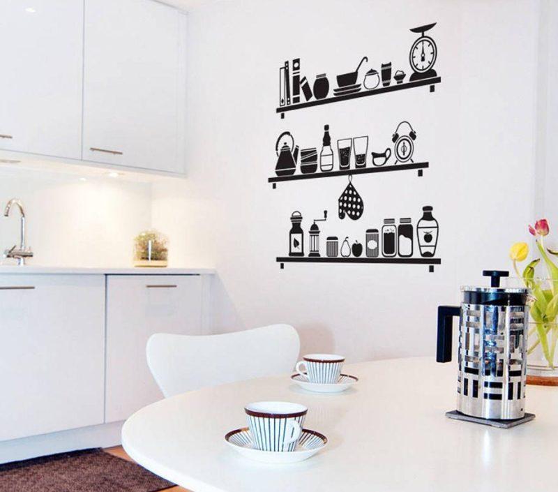 кухня с декором фото оформление