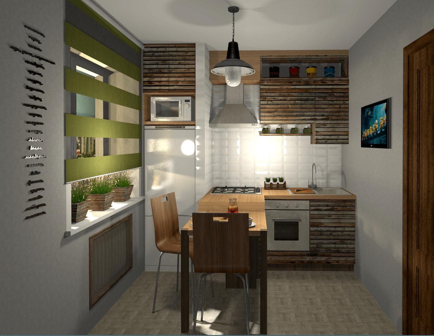 кухня с декором фото оформления