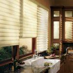 оформление окна на кухне фото интерьер