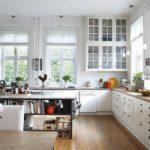 оформление окна на кухне идеи дизайн