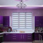 оформление окна на кухне идеи фото