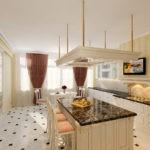 оформление окна на кухне интерьер фото
