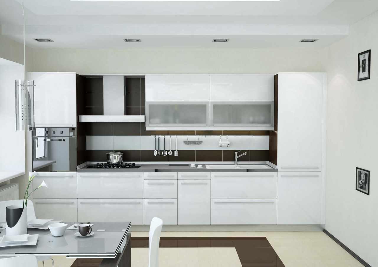 идея красивого интерьера кухни