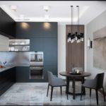 вариант светлого интерьера кухни фото