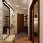 идея светлого стиля прихожей комнаты в частном доме картинка