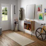 идея необычного декора прихожей комнаты в частном доме картинка