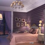 вариант светлого стиля спальной комнаты картинка