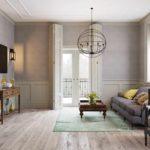 идея необычного стиля прованс в гостиной картинка