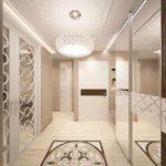 вариант необычного стиля коридора фото
