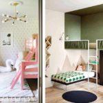 идея необычного декора детской комнаты фото