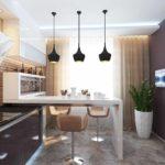 идея светлого стиля кухни картинка