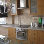 идея красивого интерьера кухни с газовым котлом картинка
