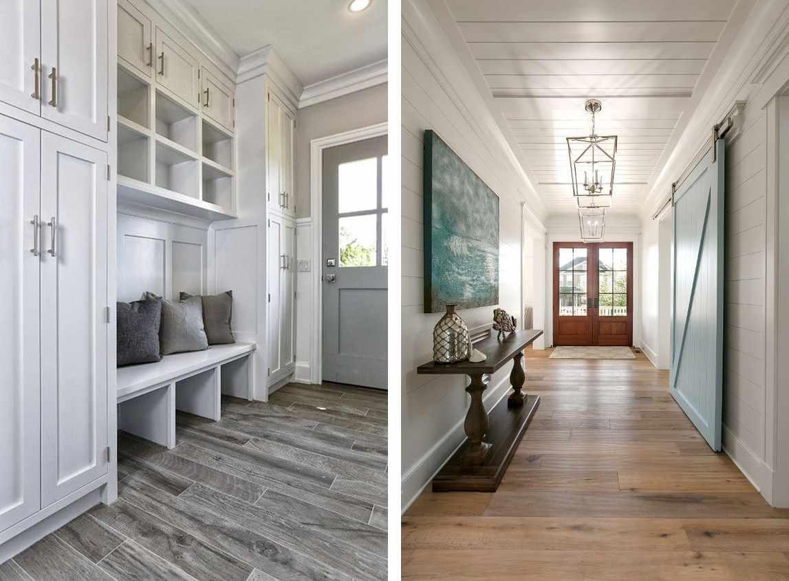 идея красивого дизайна коридора