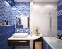 идея красивого стиля ванной комнаты картинка