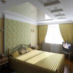 вариант светлого декора спальни в хрущевке картинка