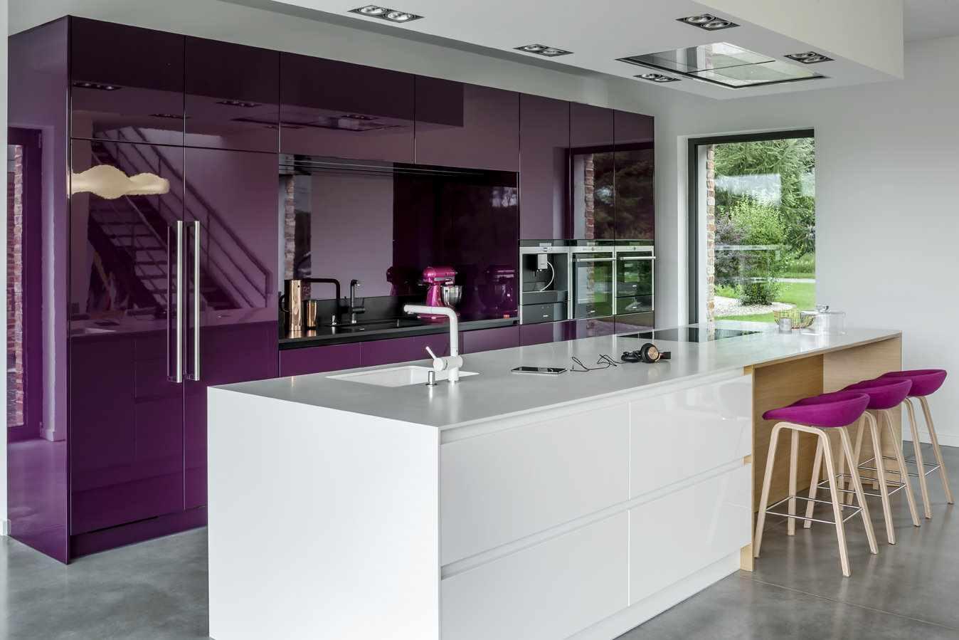 пример необычного дизайна кухни