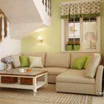 пример красивого декора прованс в гостиной картинка