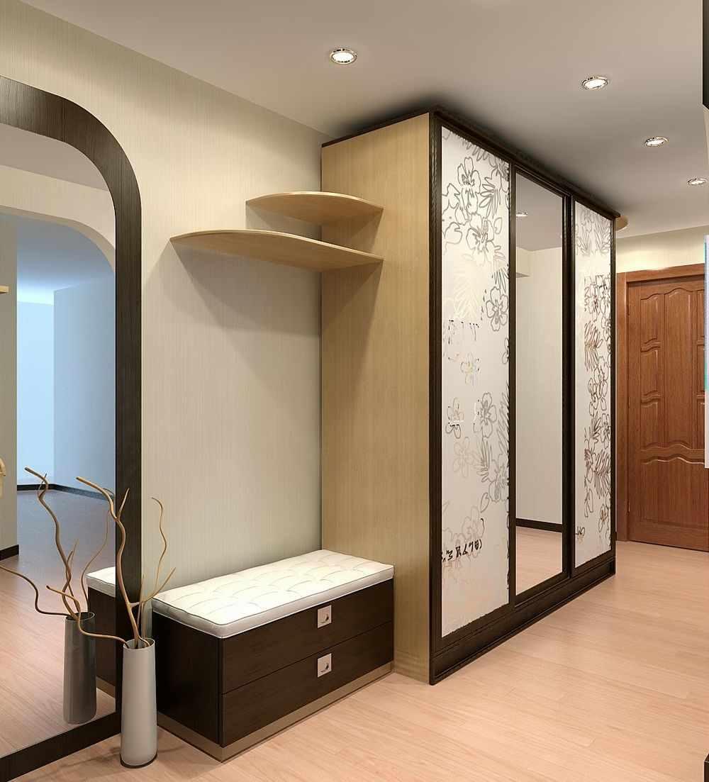 пример яркого декора прихожей комнаты