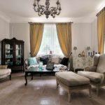 вариант необычного стиля прованс в гостиной комнате фото