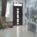 идея необычного дизайна коридора в частном доме фото