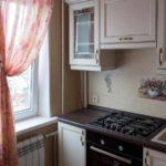 пример необычного декора кухни с газовым котлом фото