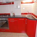 пример красивого интерьера кухни с газовым котлом картинка