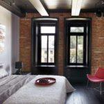 идея яркого интерьера спальни картинка