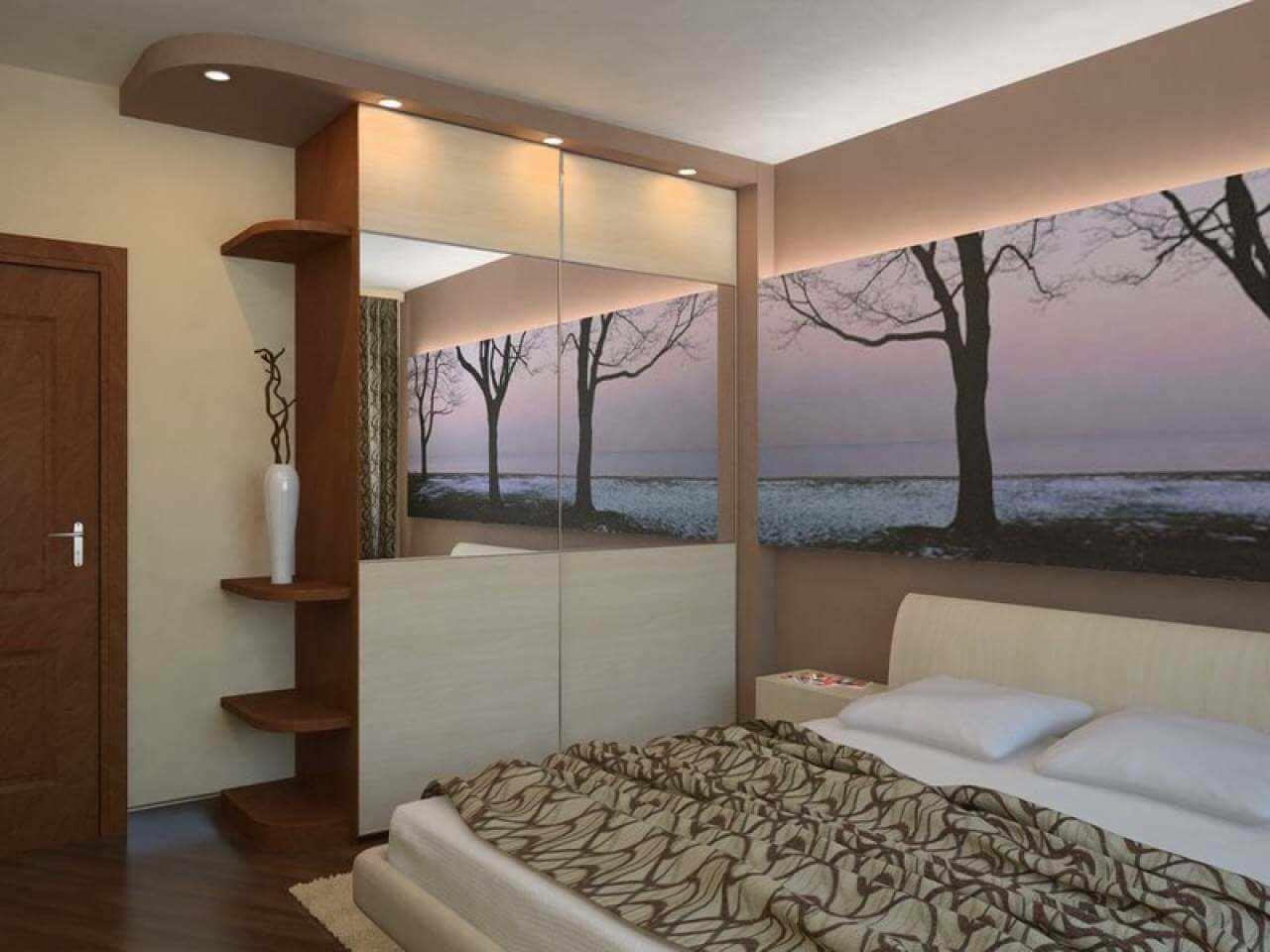 Ремонт в спальной комнате своими руками фото