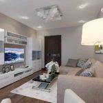 идея использования необычного дизайна гостиной комнаты в стиле минимализм картинка