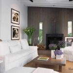 идея яркого стиля гостиной комнаты 19-20 кв.м картинка