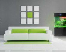 идея использования необычного декора гостиной комнаты в стиле минимализм фото
