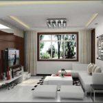 идея необычного дизайна гостиной комнаты 16 кв.м фото