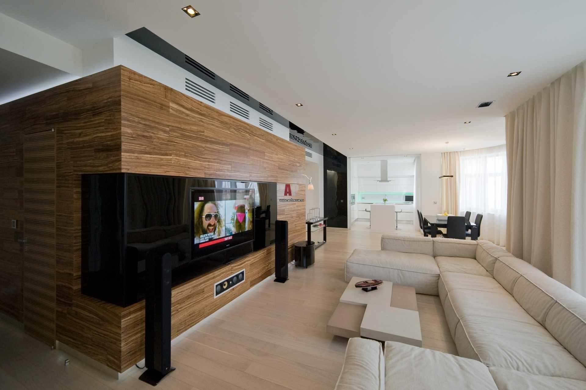 идея использования красивого декора гостиной комнаты в стиле минимализм