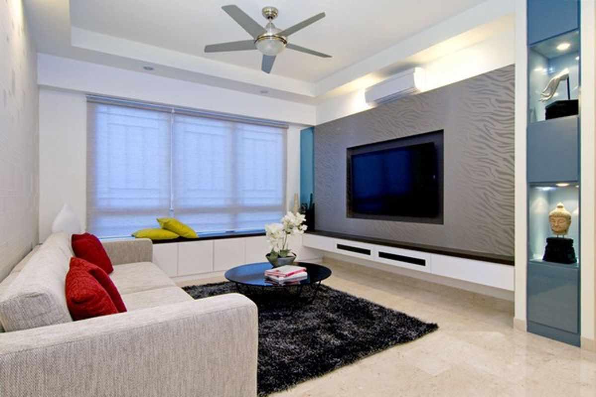 идея необычного дизайна гостиной комнаты 16 кв.м