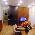 вариант необычного стиля гостиной комнаты 25 кв.м картинка