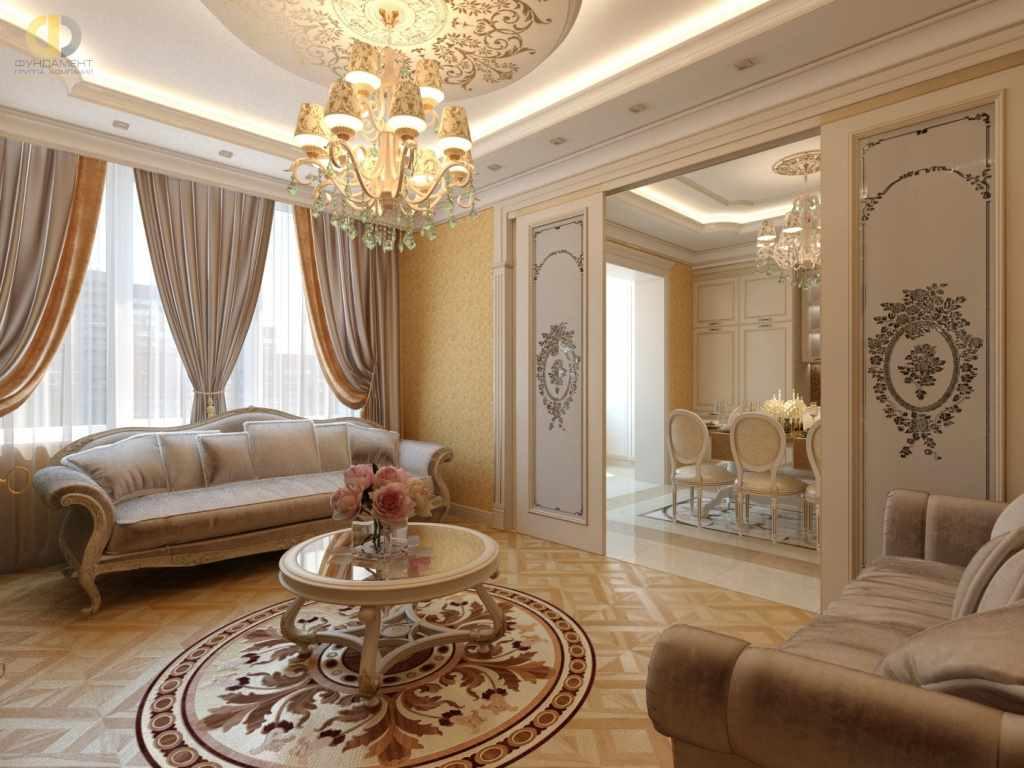 идея необычного стиля гостиной комнаты 2018