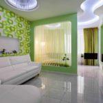 идея светлого дизайна гостиной комнаты 16 кв.м картинка